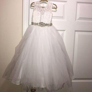 Girls Size 4 Flower Girl Dress